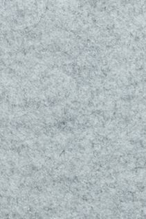 Pure Wool Felt Heather - Light Grey Mixed