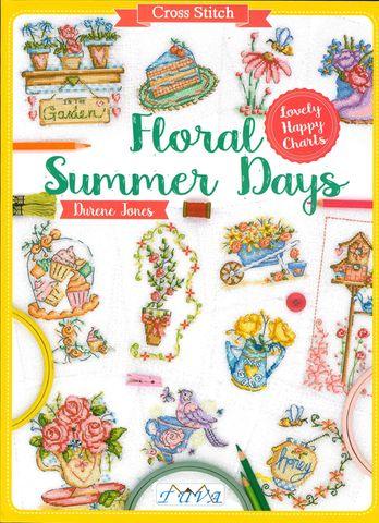 Cross Stitch: Floral Summer Days