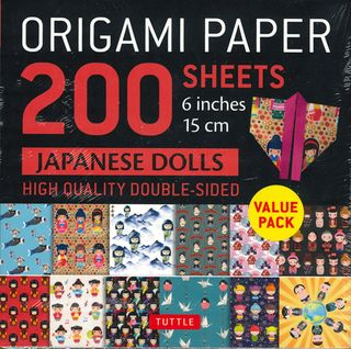 Origami Paper 200 Sheets: Japanese Dolls
