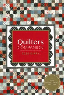 Quilters Companion 2020 Diary