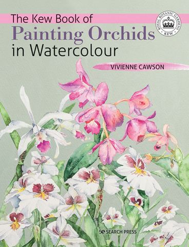 Kew Book of Painting Orchids in Watercolour