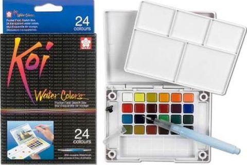 Koi Watercolour Pocket Set