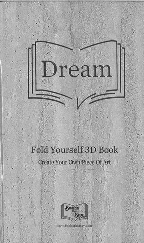 Books That Say – Dream