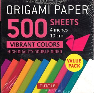 Origami Paper 500 Sheets: Vibrant Colors