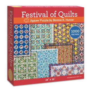 Festival of Quilts: Jigsaw Puzzle by Bonnie K. Hunter