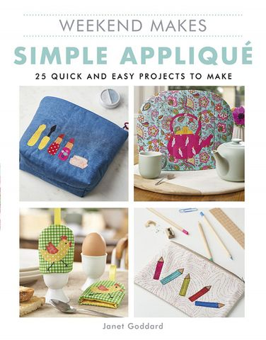 Weekend Makes: Simple Appliqué