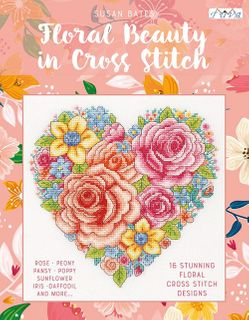 Floral Beauty in Cross Stitch