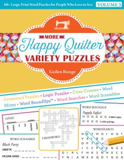 More Happy Quilter Variety Puzzles Volume 3