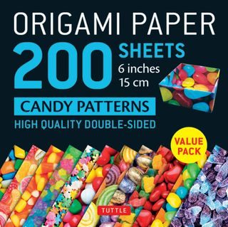 Origami Paper 200 Sheets: Candy Patterns
