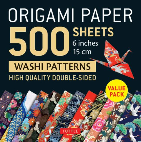 Origami Paper 500 Sheets: Japanese Washi Patterns