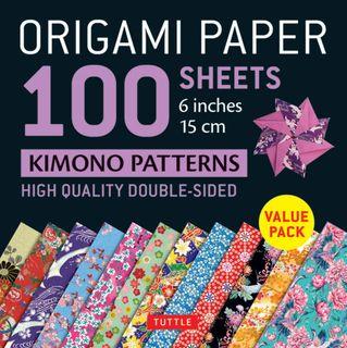 Origami Paper 100 Sheets: Kimono Patterns