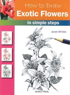 How to Draw: Exotic Flowers in Simple Steps