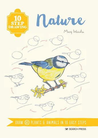 10 Step Drawing: Nature