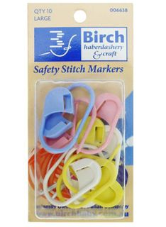 Safety Stitch Markers Large