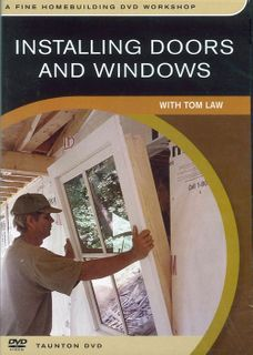 DVD Installing Doors & Windows