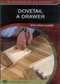 DVD Dovetail a Drawer
