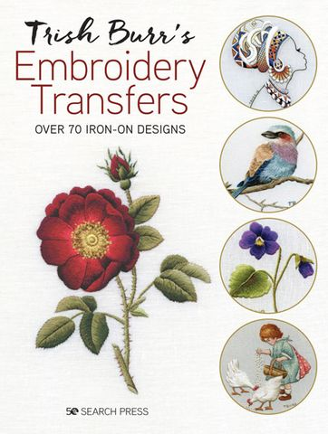 Trish Burr's Embroidery Transfers