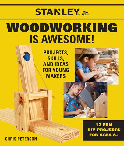 Stanley Jr. Woodworking is Awesome!