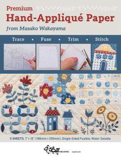 Premium Hand-Appliqué Paper from Masako