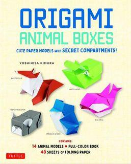 Origami Animal Boxes