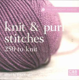 Harmony Guides - Knit & Purl Stitches