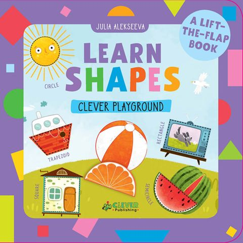Learn Shapes: A Lift-the-Flap Book
