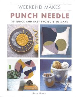 Weekend Makes: Punch Needle