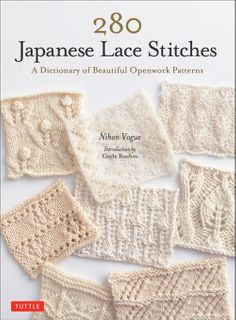 280 Japanese Lace Stitches