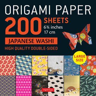 Origami Paper 200 Sheets Japanese Washi Patterns