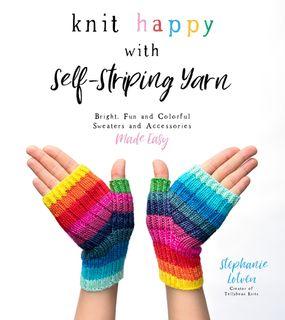 Knit Happy with Self-Striping Yarn