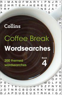 Coffee Beak Word Searches Book 4