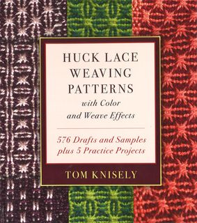Huck Lace Weaving Patterns with Colour and Weave Effects