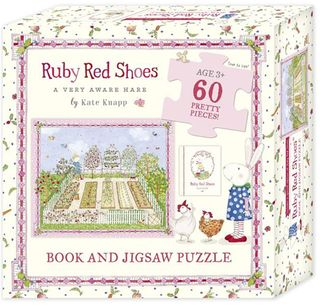 Ruby Red Shoes Book and Jigsaw Puzzle