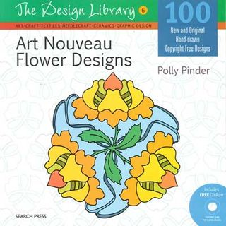 Design Library: Art Nouveau Flower Designs