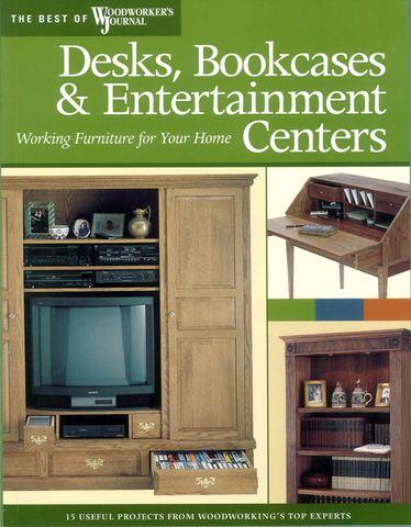 Desks, Bookcases & Entertainment Centres