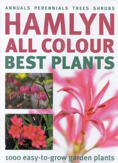 Hamlyn All Colour Best Plants