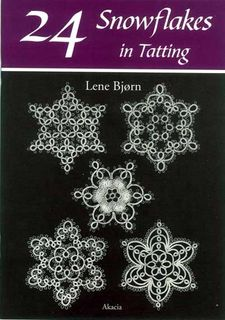 24 Snowflakes in Tatting