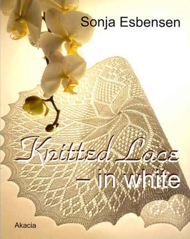 Knitted Lace in White