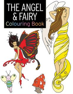 Angel & Fairy Colouring Book