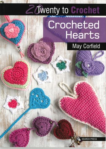 20 to Crochet: Crocheted Hearts