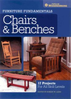 Furniture Fundamentals: Chairs & Benches