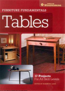 Furniture Fundamentals: Tables
