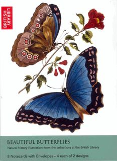 Beautiful Butterflies Notecards
