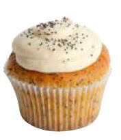 Orange Poppyseed Cupcakes (6)