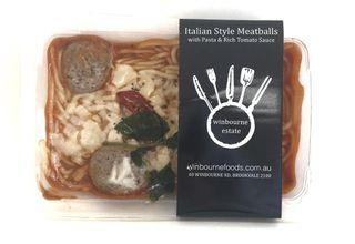 Italian Meatballs w Spaghetti