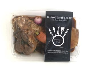 Slow Cooked Lamb ShankwVegNew$