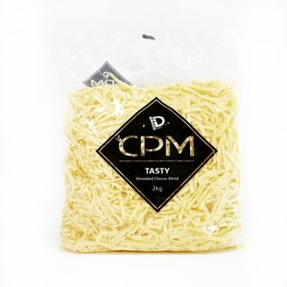 CPM Shredded Tasty Cheese 2kg