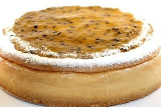 Dbl Baked Passion Cheesecake