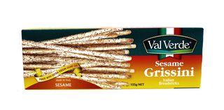 VVerd Grissini Sesame 125g(12)