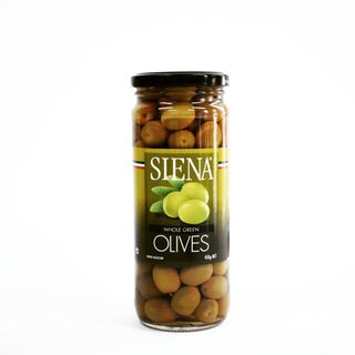 Whole Green Olives 450g (12)